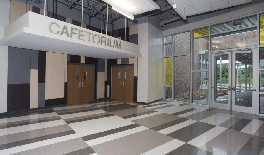 St. Amant Freshman Academy Cafetorium Entrance
