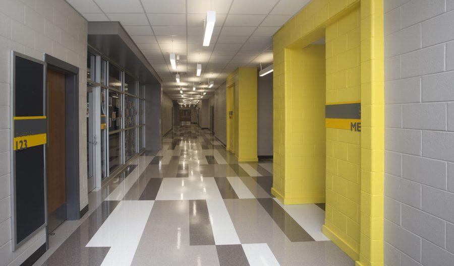 St. Amant Freshman Academy Corridor