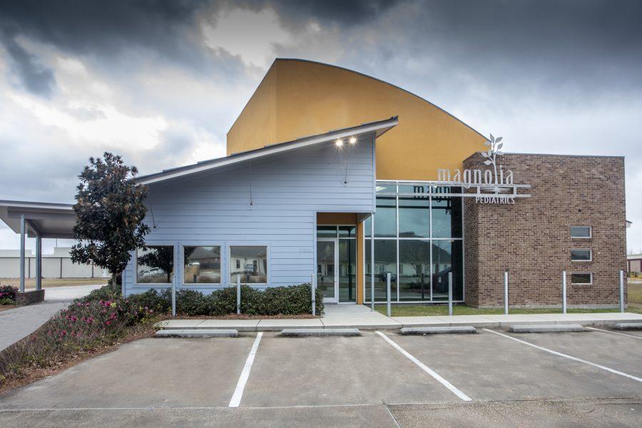 Exterior of Magnolia Pediatrics