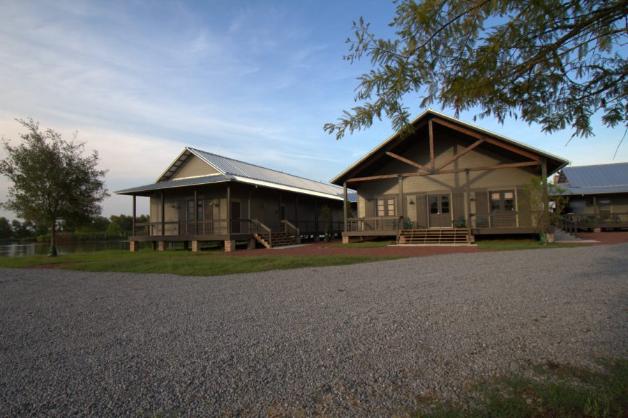 Exterior of Lamar Advertising's Duck Camp.