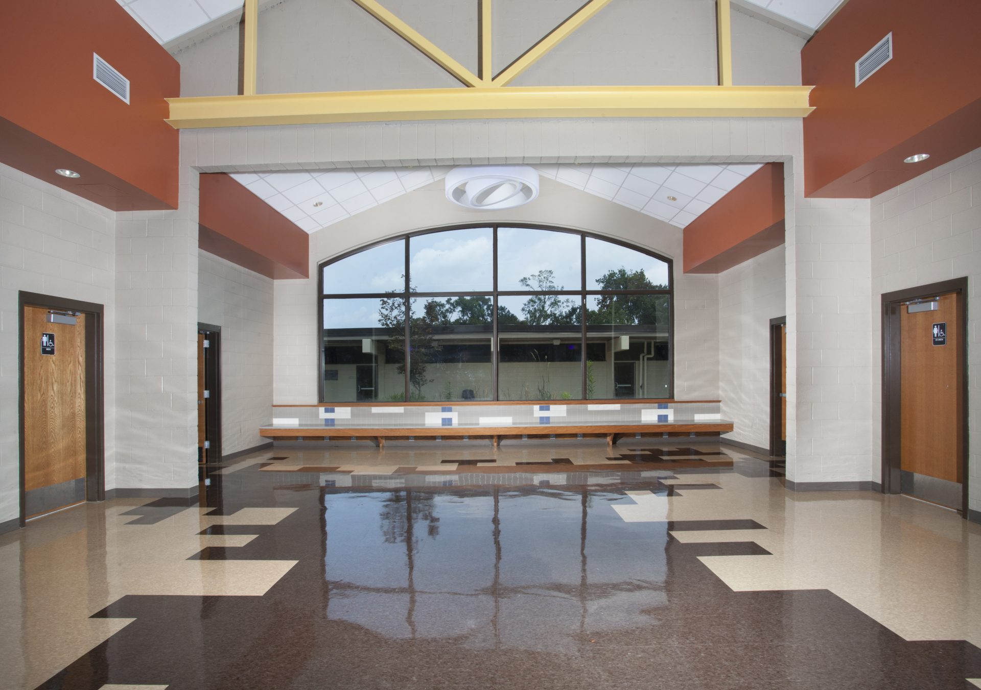 St. Amant lobby view.