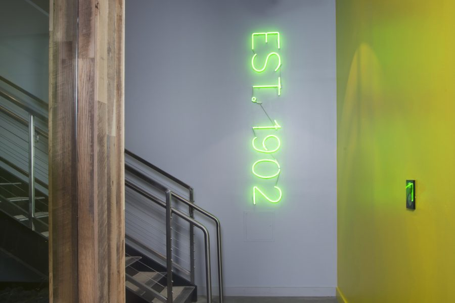 Neon sign artwork
