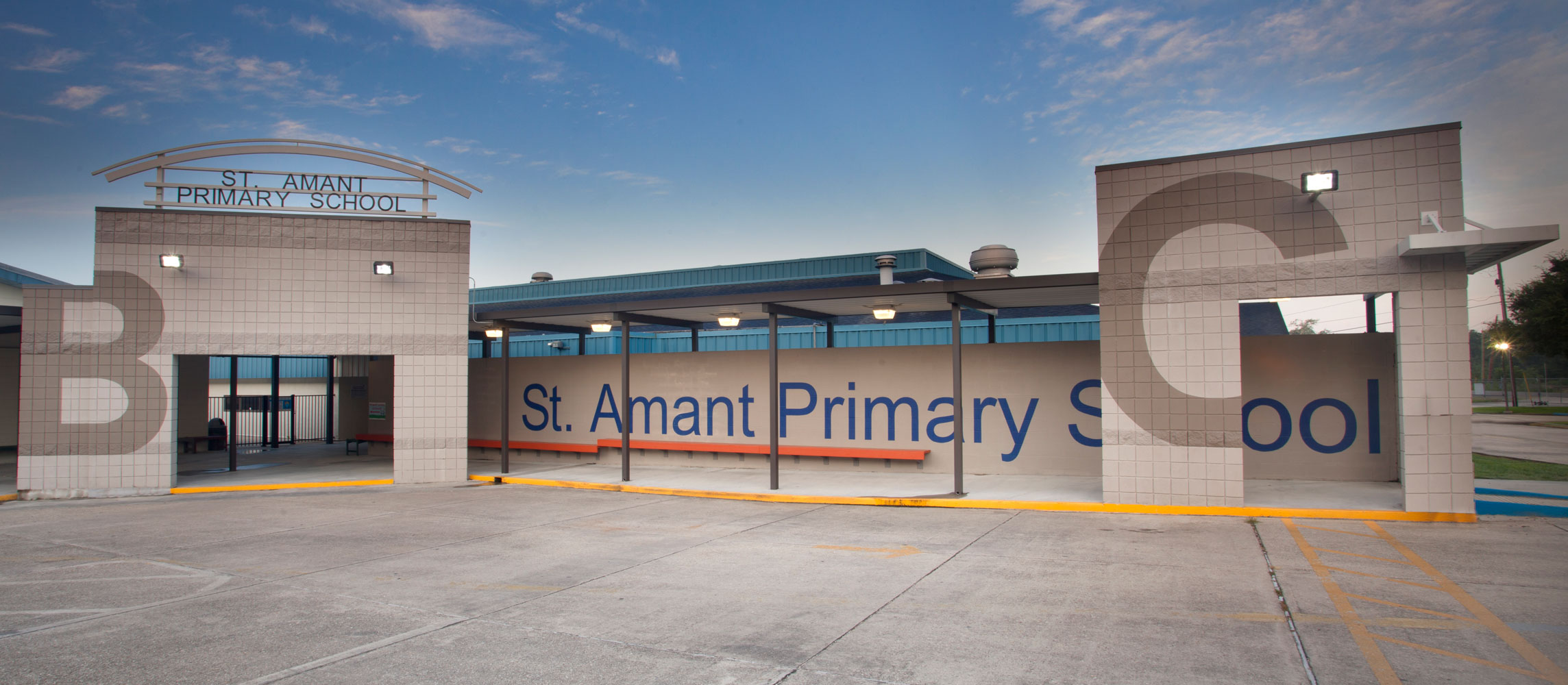 Exterior Photo of St. Amant Primary