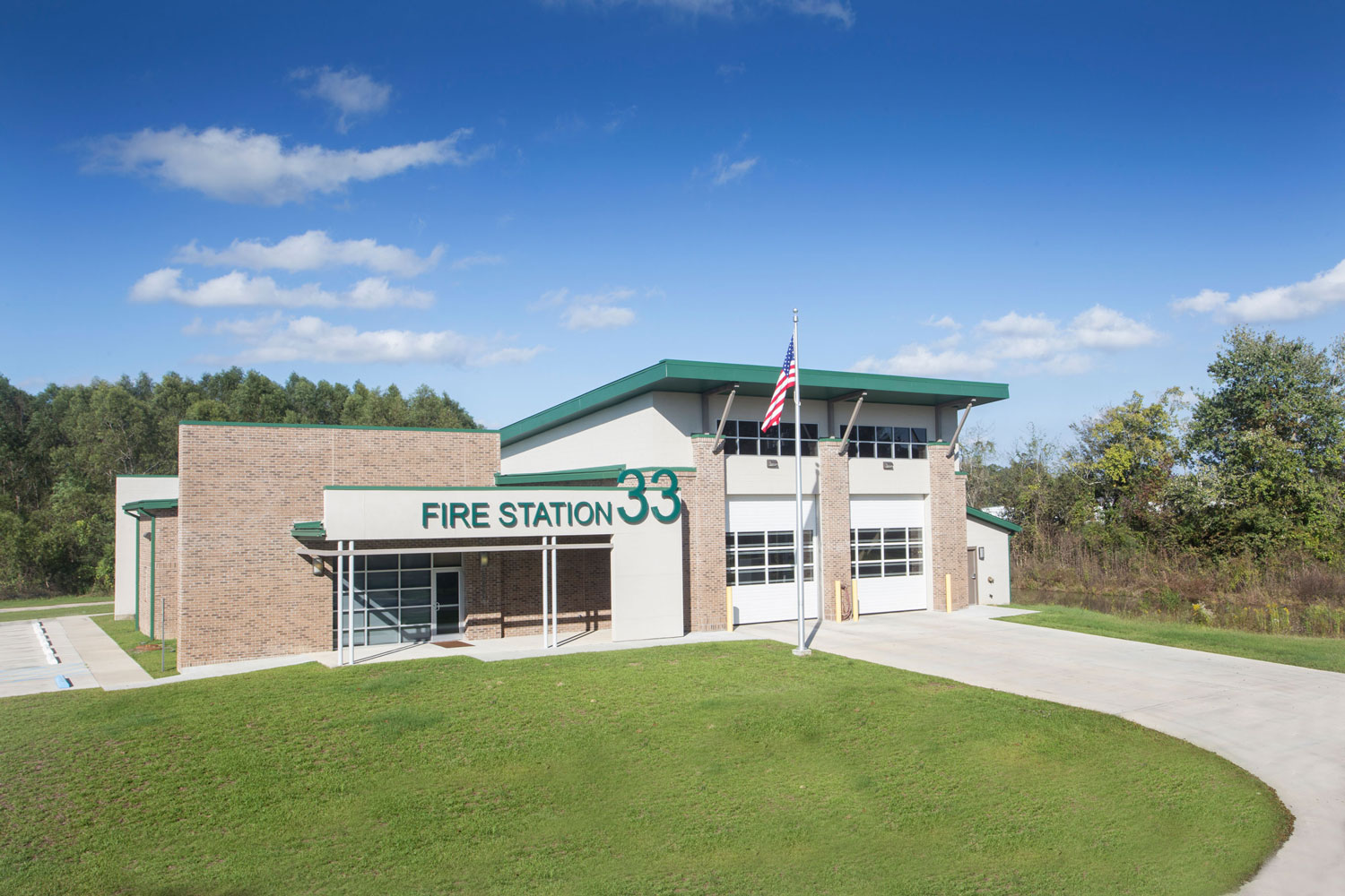 Exterior view of Fire Station 33